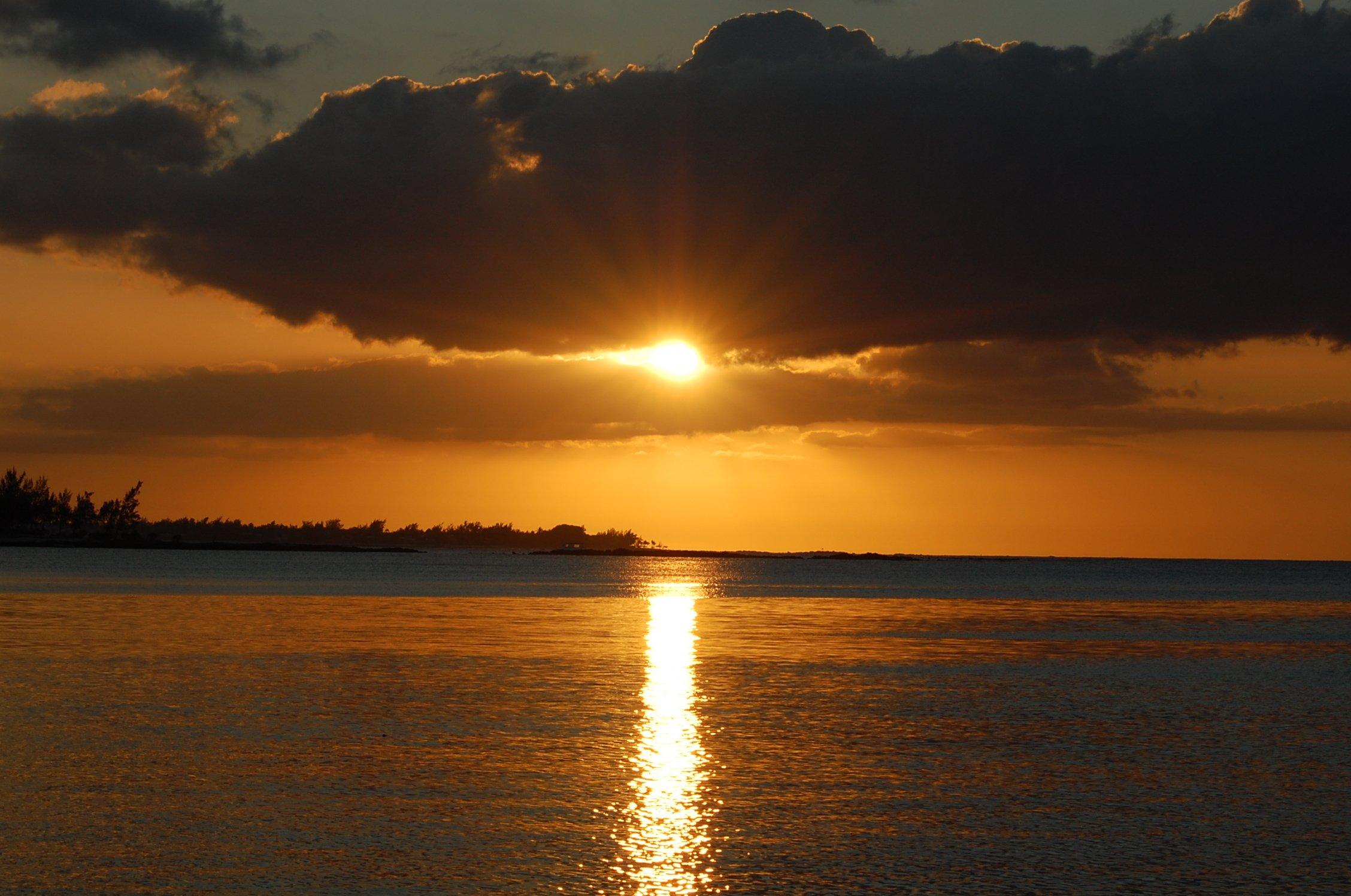 Coucher de Soleil Ile Maurice.